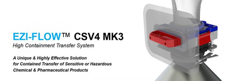 EZI-FLOW™CSV4 MK3 HIGH CONTAINMENT TRANSFER SYSTEM